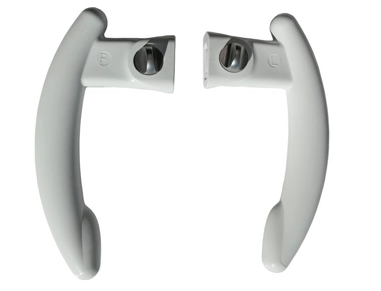 Griff Set LED.light weiss (links und rechts)