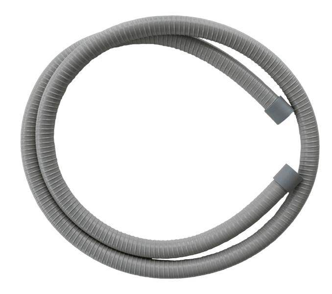 Saugschlauch grau, Spraynebel, ID=17,5, L=1800 mm