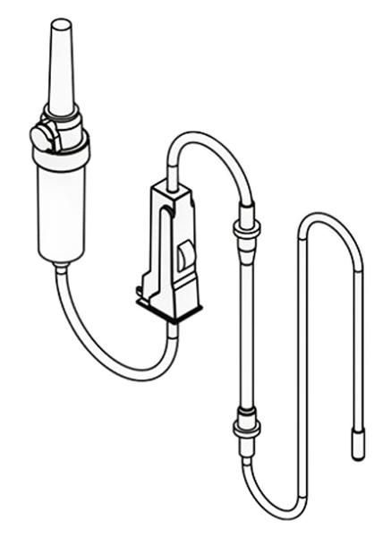 Set (6 Stück) sterile Schläuche Implantmed EM19-LC