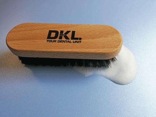 Pflegeset für Dentalpolster