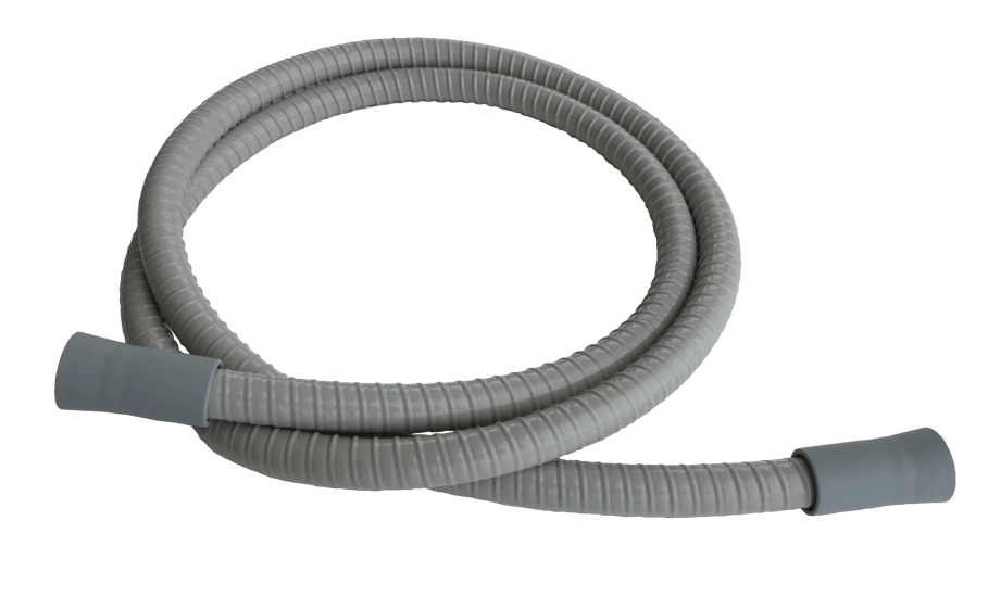 Saugschlauch grau, Speichelzieher, ID=10, L=1430mm