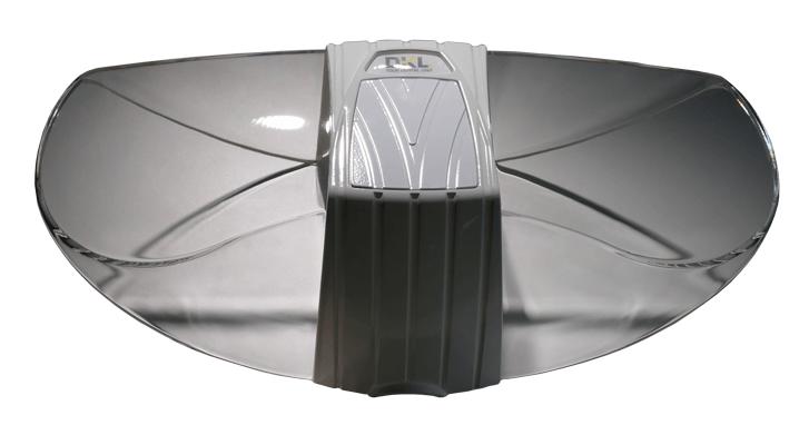 Schutzhaube weiss mit Spiegel  für LED.light