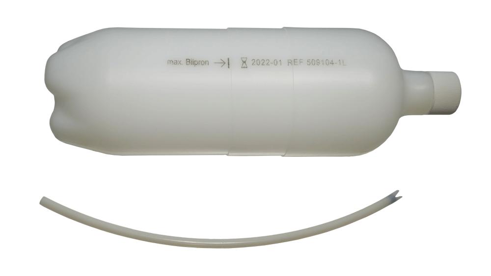 Flasche 1 Liter mit Saugschlauch